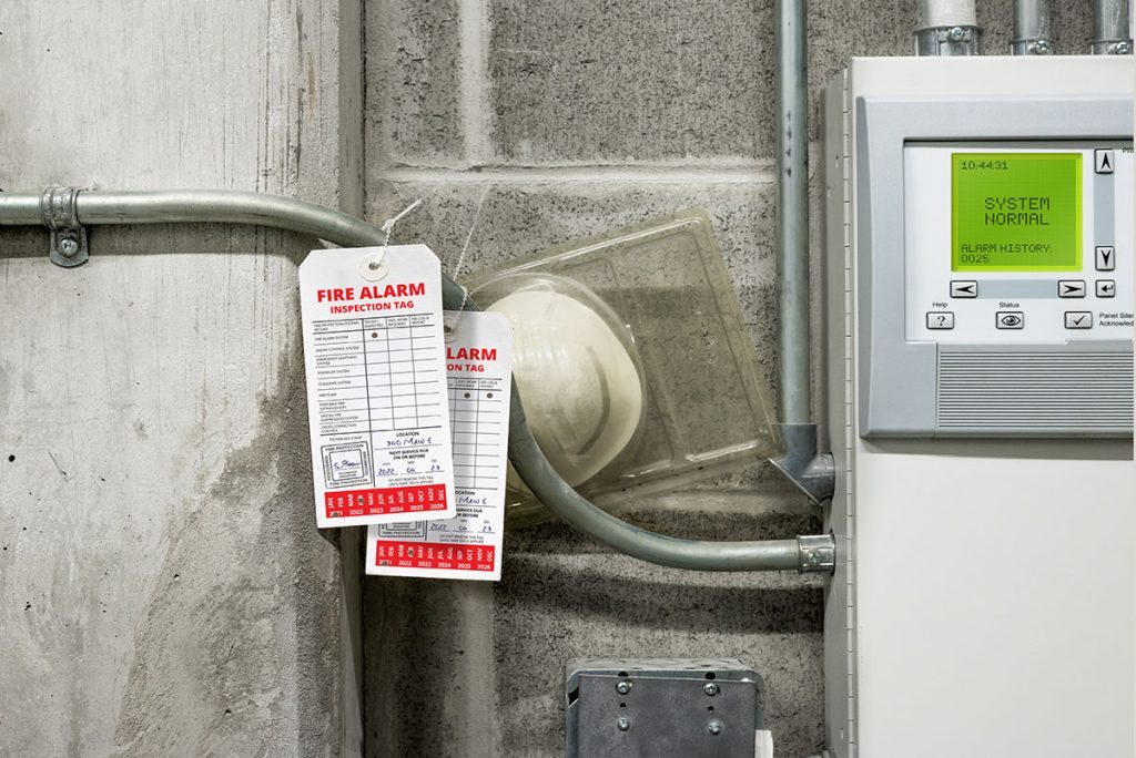 Fire safety inspections & tag services